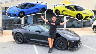 BUILDING AND ORDERING MY 2020 C8 CORVETTE!!! But What Color!?! *HELP*