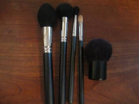 Overview of my Everyday MAC Brushes
