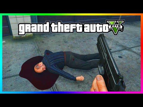 DID YOU KNOW?!? - You Can Kill Simeon Yetarian! - GTA 5 Simeon Death Rarest Random Event! (GTA 5)