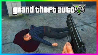 DID YOU KNOW?!? - You Can Kill Simeon Yetarian! - GTA 5 Simeon Death Rarest Random Event! (GTA 5)
