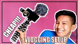 CHEAP Vlogging Setup 2019 + Tutorial (Ang mura at ang dali lang!) | Jake Zuniga