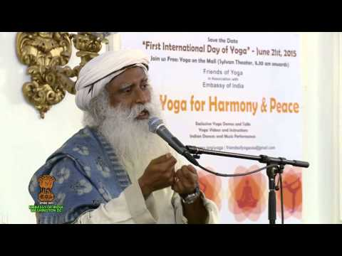 'Relevance of Yoga in Modern Life' - Talk by Sadhguru Jaggi Vasudev