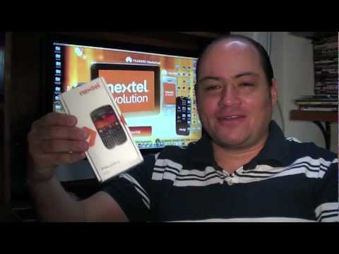 BLACKBERRY 9620 NEXTEL RED EVOLUTION UNBOXING