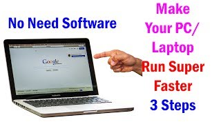 How to make your PC/Laptop super faster in 5 MINUTES - Without any software Hindi/ Urdo