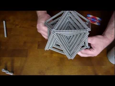 Tutorial: Quintuple Icosahedron (Zen Magnets)