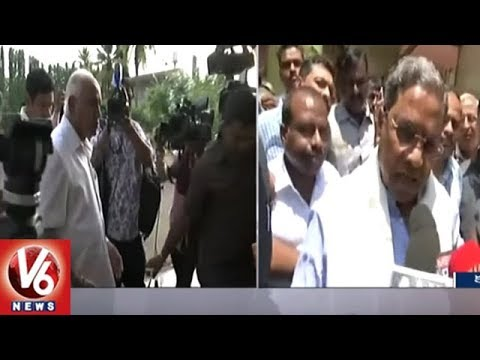 Yeddyurappa Is Mentally Disturbed, Says Karnataka CM Siddaramaiah | V6 News