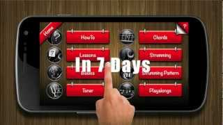 """Learning Ukulele In 7 Days"" Android,iPhone,Mac and Pc App"