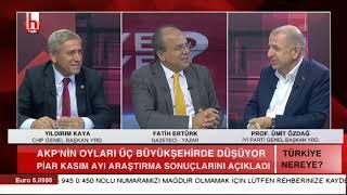 AKP fena düştü / Türkiye Nereye - Ümit Özdağ - Yıldırım Kaya - 17 Kasım - 1. Bölüm