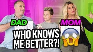 Who KNOWS Me Better CHALLENGE! (Mom vs Dad) | Gavin Magnus