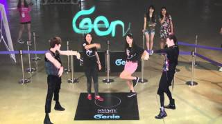 Genie AR SHOW with SHINee : Episode 05 _ S.M.ART EXHIBITION in SEOUL COEX (10~19 AUG. 2012)