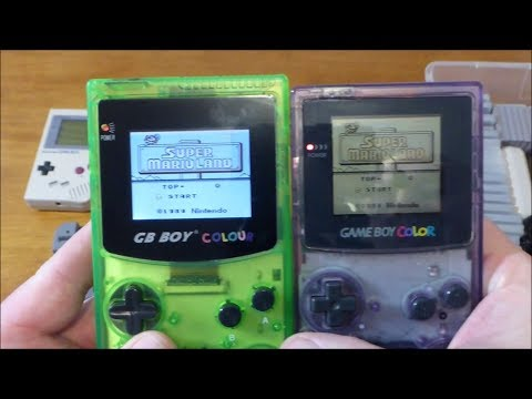 GB Boy Colour VS Nintendo Game Boy Color My Opinion and Review, Recommended Before You Buy it