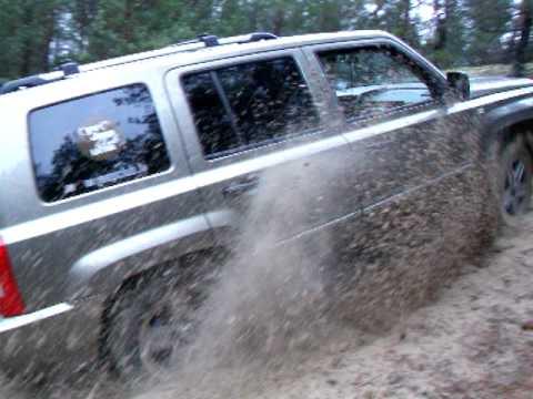 Offroad on Jeep Patriot in Bolderaja3