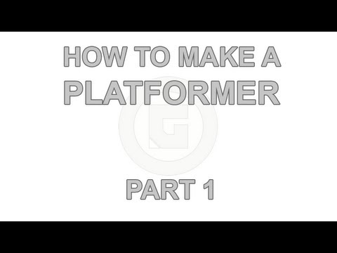 How to make a 2D Platformer: Part 1 - Setup