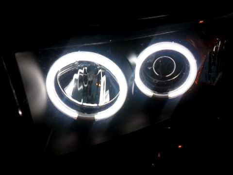 CCFL Angel Eyes Halo Fog Light  Dodge Ram