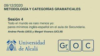 Jornadas GrOC de actualización gramatical - Sesión 4 (9 dic)