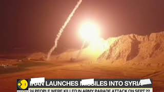 Iran fires missiles at militants in Syria over parade attack
