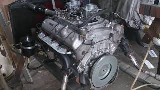BMW 3200cs V8 Engine running