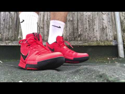 """Nike Kyrie 3 """"3Pt. Contest/Candy Apple"""" ON FEET REVIEW"""