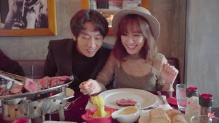 Hari Won & Tuấn Trần - Siêu Ham Ăn -  EL Gaucho Argentinian Steakhouse (Korean/English/VN Subtitles)