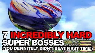 7 Incredibly Hard Super Bosses You Definitely Didn't Beat First Time Round (Final Fantasy Edition)