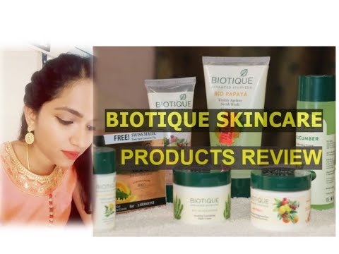 Biotique Skin care Products Review || Beyoudefining || Tamil You tuber.
