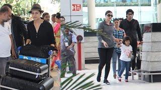 Airport Spotting: Aishwarya Rai Bachchan, Sachin Tendulkar And Others!