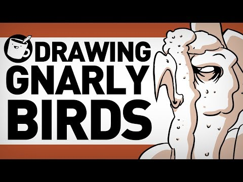 Drawing Gnarly Birds