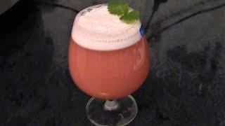 Напиток из сыворотки с клюквой ./Напитки ./Рецепты напитков ./Домашние напитки .
