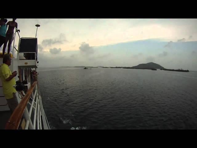 SEA VOYAGER INICIANDO EL RETORNO