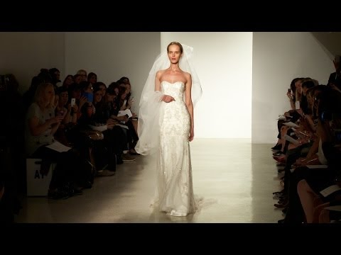 Christos & Kenneth Pool Fall 2014 Bridal - Backstage, Interviews and Runway | Videofashion