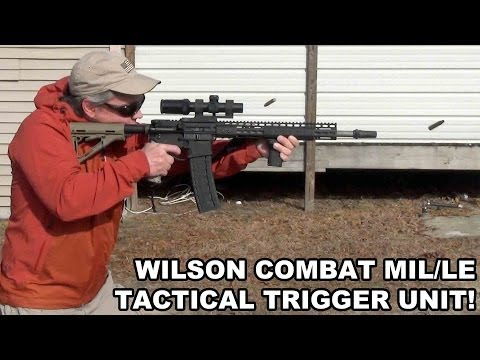 Wilson Combat Tactical Trigger Unit! Mil/LE Single Stage