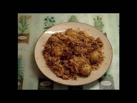 Simple Bombay Beef Biryani
