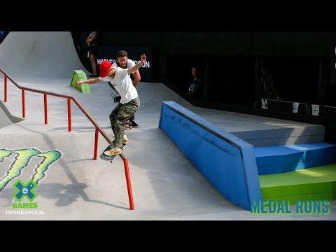 MEDAL RUNS: Women's Skateboard Street | X Games Minneapolis 2019