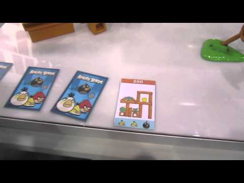 Angry Birds board game from Mattel hands on