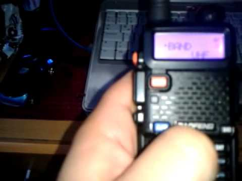 Grabar frecuencias baofeng uv-5r