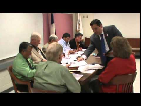 Floresville, Texas (WCN) Wilson County Commissioners (1 of 2) 5/11/2015