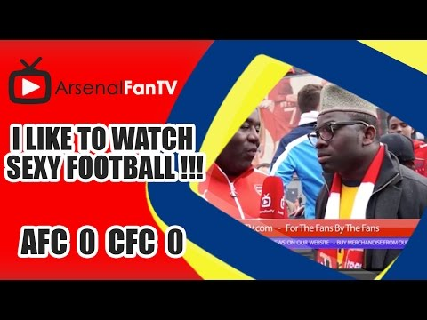 I Like To Watch Sexy Football !!!   Arsenal 0 Chelsea 0 video
