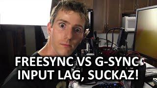 FreeSync vs G-Sync Input Lag Comparison