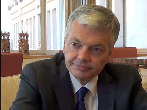 Grand entretien avec Didier Reynders, Ministre belge des Affaires étrangères