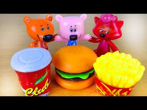 Ми-ми-мишки мультики с игрушками Все серии про Кешу и Тучку для детей Сборник мультиков Mimimishki