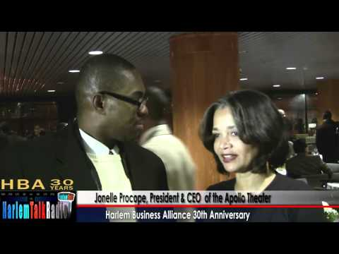 Apollo Theater's Jonelle Procope Awarded Harlem Business Alliance 30th Anniv 3of6