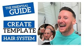 How to Create a Template   Hair System   Non-Surgical Hair Replacement System for Men/Women