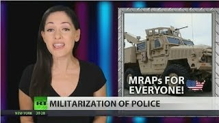 Pentagon, arming US police with MRAP combat vehicles  1/19/14