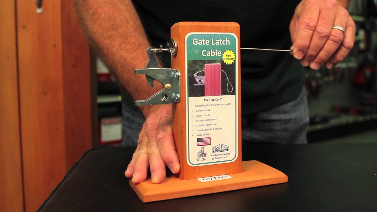 Gate Latch Cable Introduction For Ace Store Owners And