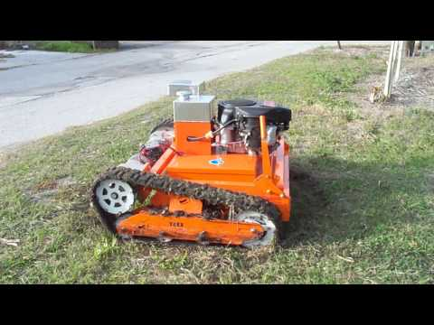 T-REX RAW POWER SLOPE MOWER
