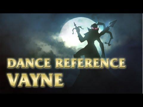 Vayne - Gun Kata - League Of Legends (lol) Dance video