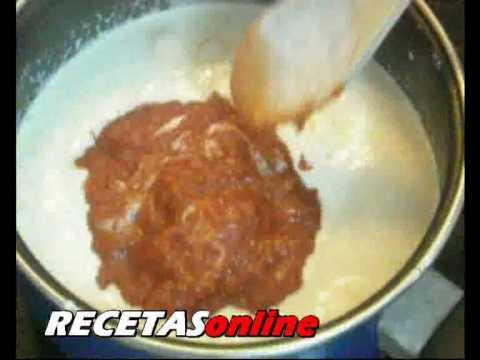 Pasta con salmón - Recetas de  cocina RECETASonline