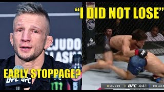 [Full Fight Highlights] Cejudo vs Dillashaw UFC Fight Night 145 BREAKDOWN (Early Stoppage?)