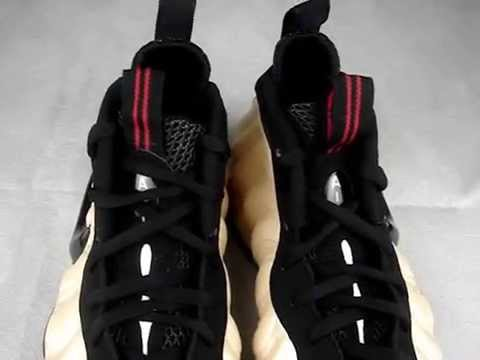 Nike Foamposite one cough drop and white pearl 2010.wmv
