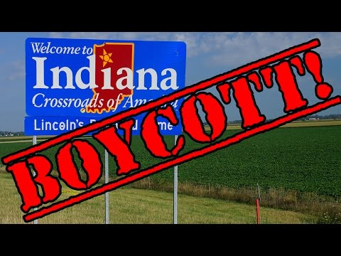 Indiana Boycotted Over Anti-gay Discrimination Law video